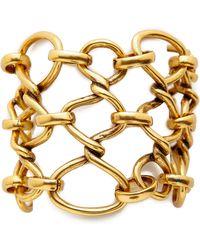 Oscar de la Renta Twisted Rope Bracelet - Russian Gold - Lyst