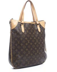Louis Vuitton Pre-owned Monogram Canvas Odeon Gm Bag - Lyst
