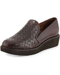Sesto Meucci Allix Woven Slip-On Loafer - Lyst