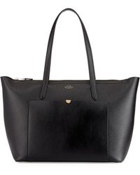 Smythson Panama East-west Zip Tote Bag - Lyst