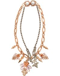 Mawi - Layered Cluster & Spike Necklace - Lyst