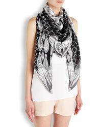 Lara Bohinc - Fauna Printed Silk Scarf - Lyst
