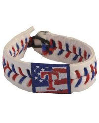 Game Wear - Texas Rangers Stars And Stripes Bracelet - Lyst