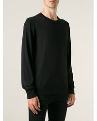 Dolce & Gabbana Classic Round Neck Sweater - Lyst