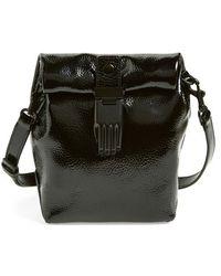Opening Ceremony 'Athena' Patent Leather Crossbody Bag black - Lyst
