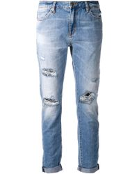 Neuw 'Sister Ray' Slim Slouch Jeans - Lyst