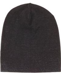 John Varvatos - Reverse-Print Knit Cap - Lyst