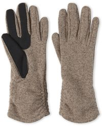 Fownes - Touchpoint Sweater Knit Gloves - Lyst