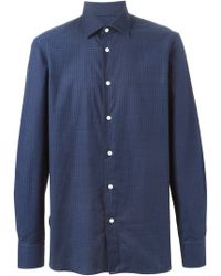 Mp Massimo Piombo | Checked Shirt | Lyst