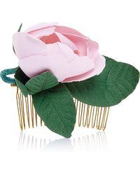 Francesco Ballestrazzi - Pink Cotton Magnolia Comb - Lyst
