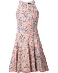 Thakoon Floral Jacquard Dress - Lyst