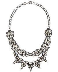 Deepa Gurnani Empresses Crown Necklace - Lyst