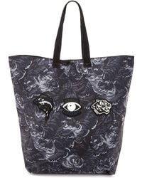 KENZO - Essentials Large Tiger Tote - Lyst