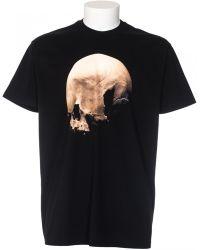Givenchy T-Shirt Columbian Fit Print Skull black - Lyst