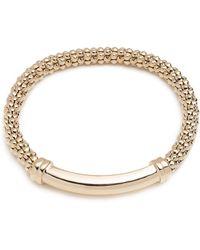 Anne Klein - Bar-accented Stretch Bracelet - Lyst