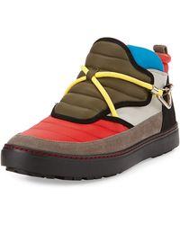 Bally Oskin Colorblock Hiking Sneaker - Lyst