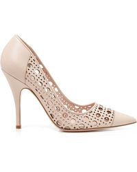 Kate Spade Perforated Pumps - Lizette High Heel - Lyst