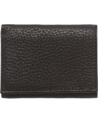 Howick - Pebble Leather Tri Fold Wallet - Lyst