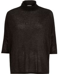 River Island Dark Grey Cowl Neck Top - Lyst