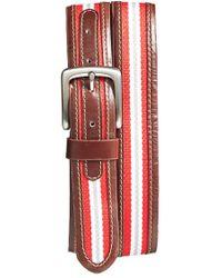 Jack Mason Brand | 'tailgate - Ohio State Buckeyes' Belt | Lyst