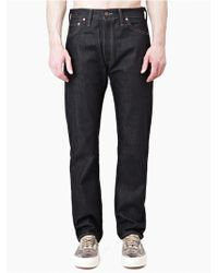 Levi's Men'S Indigo 1962 551Z Rigid Jeans black - Lyst