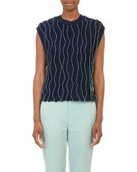 3.1 Phillip Lim Wavy-stitch Sweater - Lyst