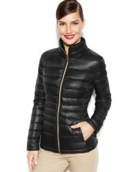 Calvin Klein Packable Quilted Down Puffer Coat - Lyst