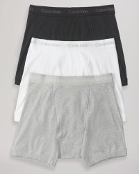 Calvin Klein Knit Boxer Briefs 3 Pack - Lyst
