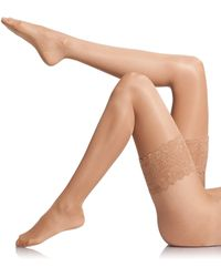 Wolford Satin Touch 20 Stay-Up Thigh Highs - Lyst
