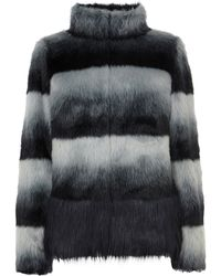 Coast Bronx Faux Fur Coat - Lyst