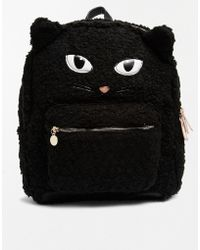 Aldo Manaus Faux Fur Cat Backpack - Lyst