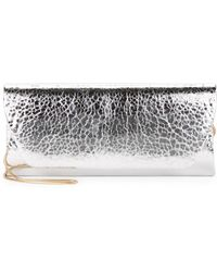 Belle By Badgley Mischka - Metallic Clutch - Lyst