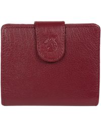 Conkca London - Deep Red 'azaria' Leather Bi-fold Purse - Lyst