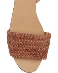 fabf6490df1 Sperry Top-Sider Flat Espadrille Sandals Hope in Black - Lyst