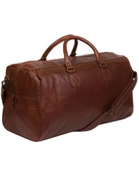 The Bridge Marcopolo Viaggio Marrone Leather Travel Bag in Brown for ... a35fd78bc6d31