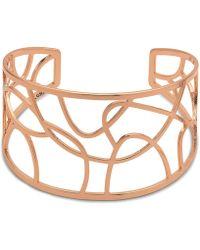 Pilgrim - Rose Gold Plated 'zora' Bracelet - Lyst
