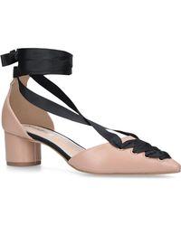 Miss Kg - Nude 'april' Low Heel Court Shoes - Lyst