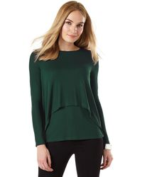 Phase Eight - Dita Double Layer Top - Lyst