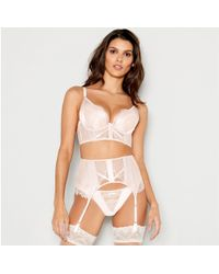 e741dfd02fe95 Ann Summers - Pale Pink Lace  nala  Underwired Padded Plunge Bra - Lyst