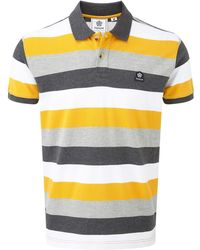 Tog 24 - Citrus Stripe Palin Polo Shirt - Lyst