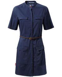 Craghoppers - Night Blue Nosilife Symone Shirt Dress - Lyst