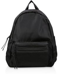 ca207dcf312 ALDO Gazzone Faux-fur Backpack in Black - Lyst