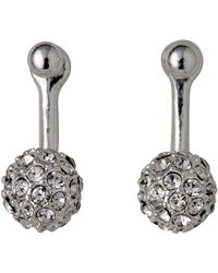 Pilgrim - Amalia Silver Plated Earrings - Lyst