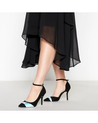 cfbdf250d1 True Decadence Silver Glitter Bow Detail Court Shoes in Metallic - Lyst