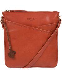 Conkca London - Burnt Orange 'avril' Handmade Leather Bag - Lyst