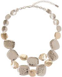 Hobbs - Metallic 'pippa' Necklace - Lyst