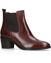 Carvela Kurt Geiger - Shake Block Heel Ankle Boots - Lyst
