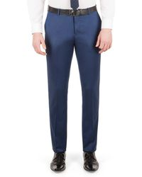 Red Herring - Bright Blue Micro Slim Fit Trouser - Lyst
