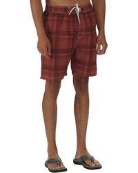 Regatta - Brown Hadden Board Shorts - Lyst