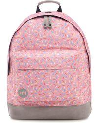 Mi-Pac - Pink Sprinkles Print Backpack - Lyst